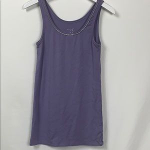 A New Day purple tank top size Lg.